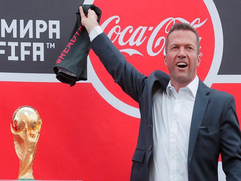 chegada taca copa do mundo 2018 russia