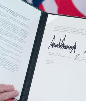 documento assinado singapura coreia do norte