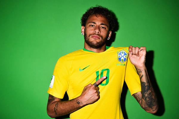 ensaio neymar selecao camisa amarela