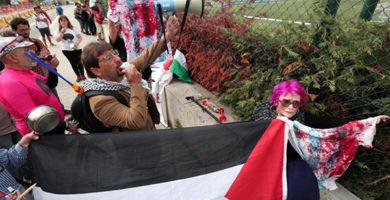 protesto selecao argentina amistoso israel