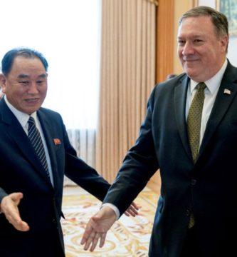 Pompeo e King Yong Chol