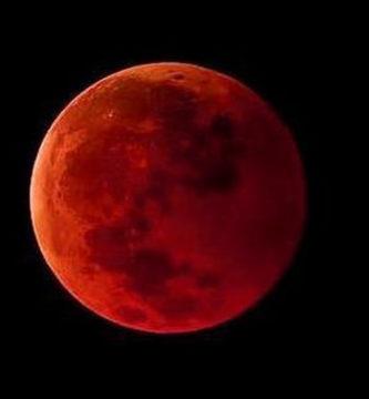 lua de sangue eclipse hoje