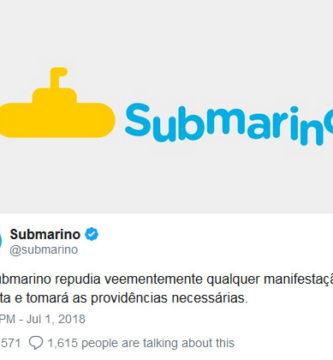 submarino caso cocielo