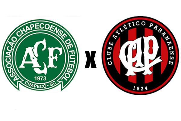 Chapecoense X Atletico Pr Campeonato Brasileiro
