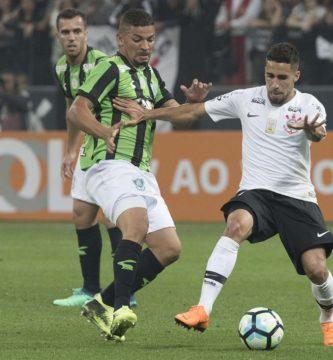 América-MG x Corinthians: prováveis times