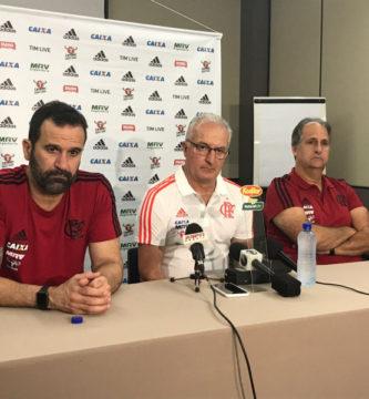 Flamengo apresenta Dorival Júnior