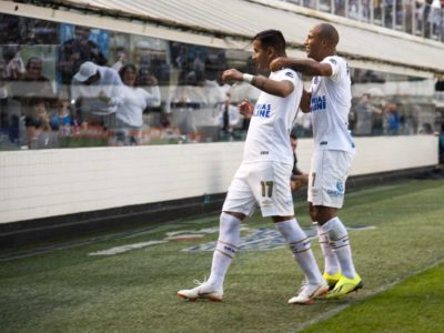 Santos pode perder dupla gringa em clássico