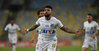 Gabigol quebra marca pessoal no Santos