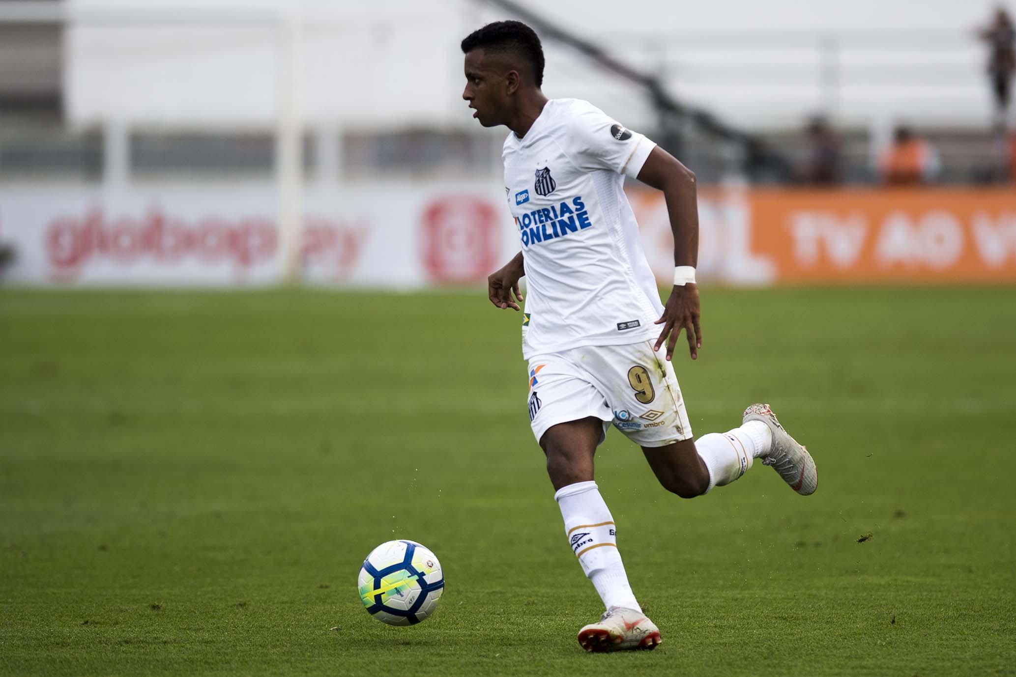 Rodrygo Santos desfalque