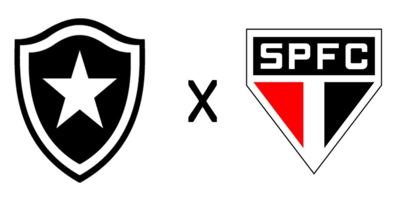 Resultado de imagem para Botafogo x são paulo