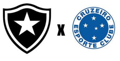 botafogo x cruzeiro 23 rodada campeonato brasileiro 2018