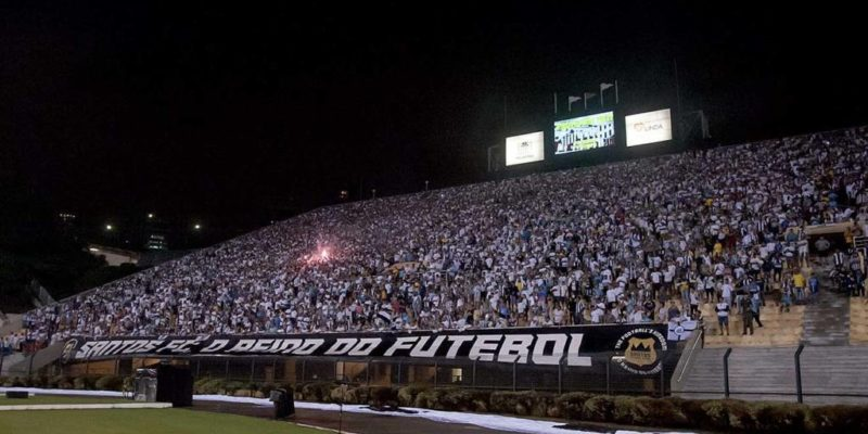 Santos parcial de ingressos contra o Corinthians