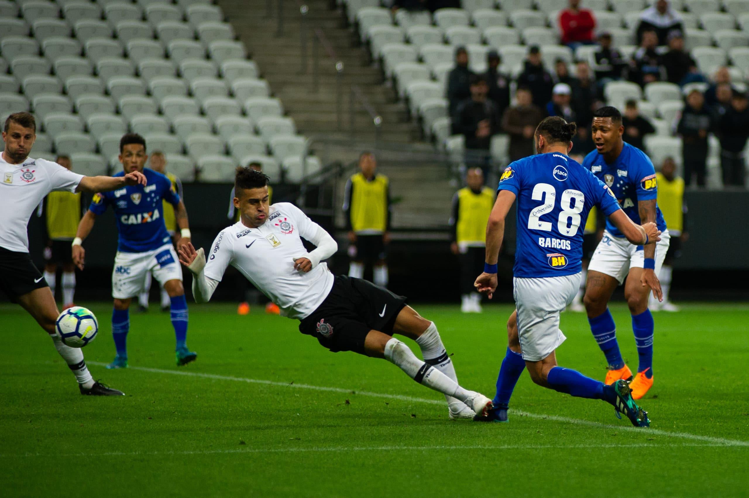 Cruzeiro provável time contra o Corinthians