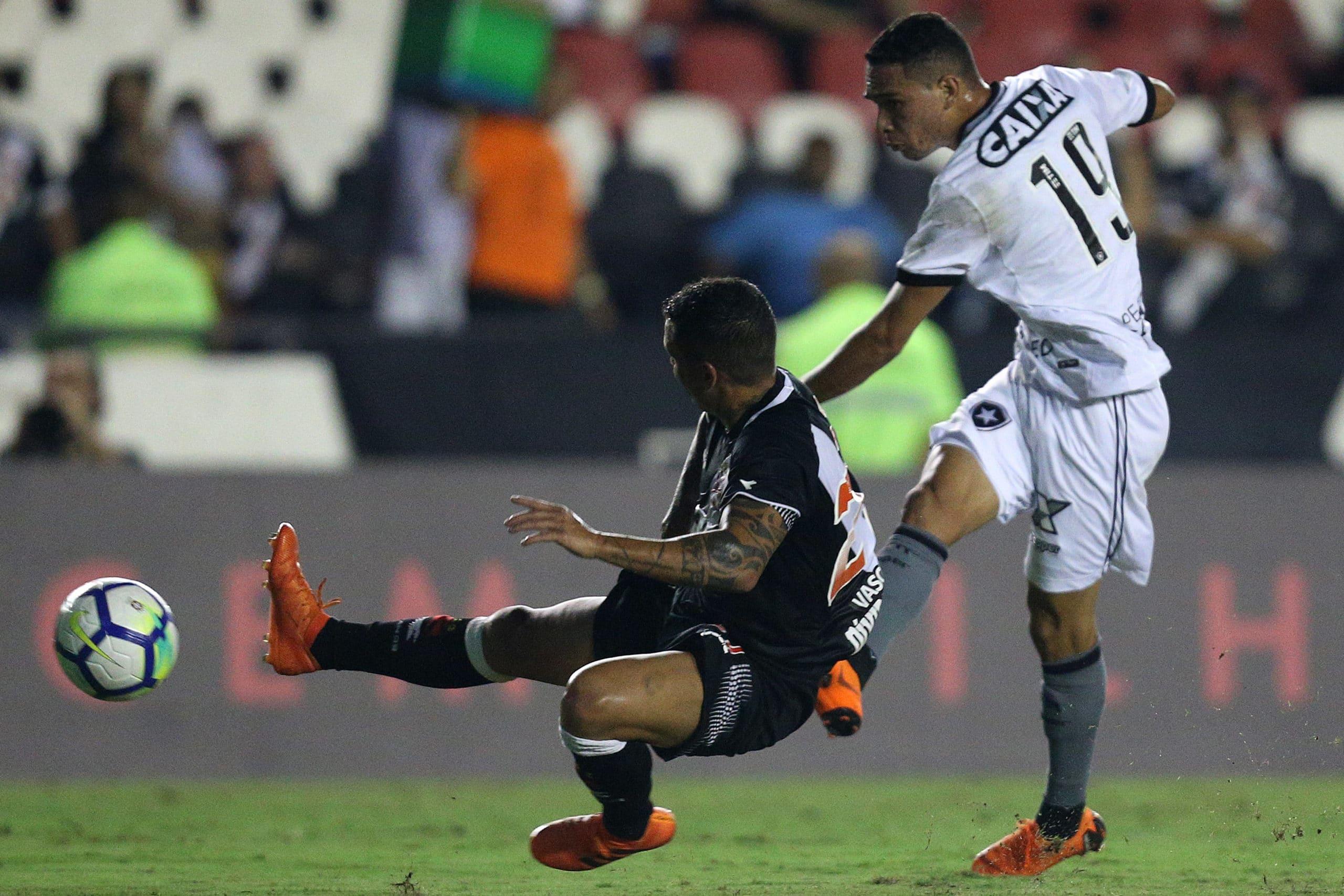 Botafogo x Vasco: prováveis times
