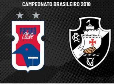 Paraná x Vasco  Ao Vivo em Tempo Real a5d4327500146